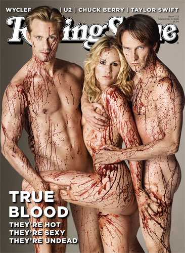 Rolling Stone True Blood Cover